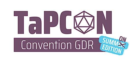 TaPCON Convention GDR - Summon Edition biglietti