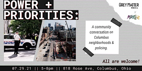 Power + Priorities: A conversation on Columbus neighborhoods and policing tickets