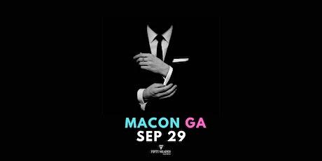 Fifty Shades Live Macon, GA tickets