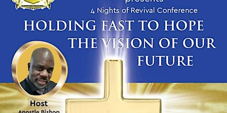 Holding Fast To Hope, The Vision Of Our Future. tickets