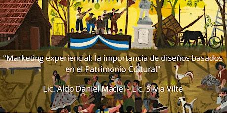 Curso:Marketing experiencial basado en diseños desde el Patrimonio Cultural tickets