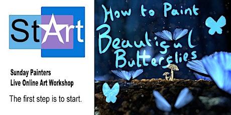 Sunday Painters: Beautiful Butterflies tickets