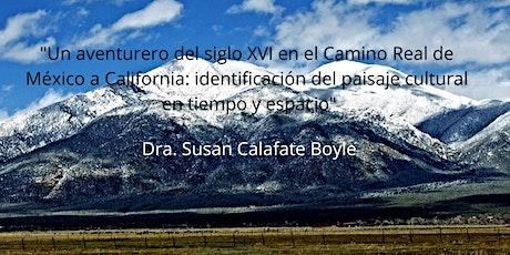 Curso: Un aventurero del siglo XVI en el Camino Real de México a California entradas