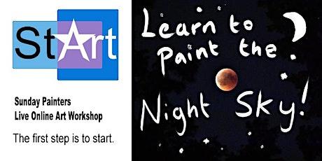 Sunday Painters: Night Sky tickets
