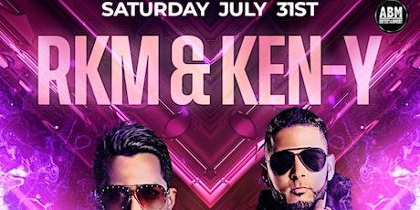 Rakim & Ken Y at Oak Room Lounge July 31st tickets