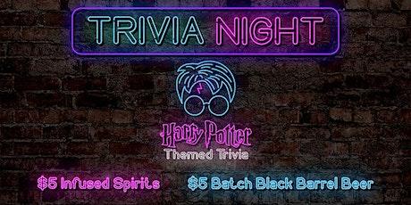 Trivia Night - Harry Potter Theme tickets