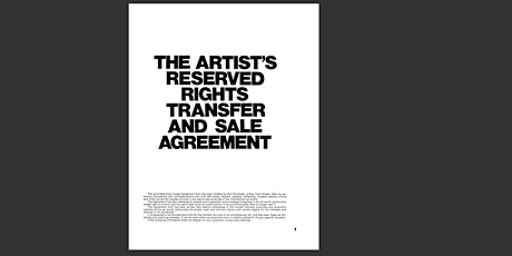 Legal Legacy: The Artist's Contract  online panel discussion tickets