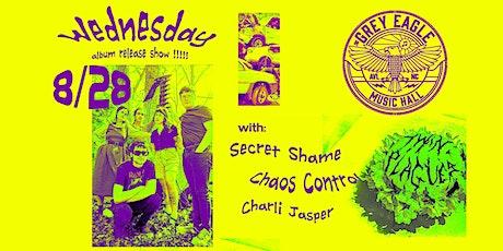 Wednesday (Album Release) + Chaos Control + Secret Shame + Charli Jasper tickets