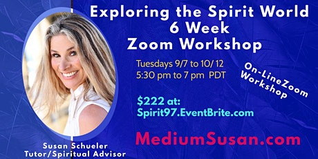 Exploring the Spirit World: Zoom 6 Week Course tickets