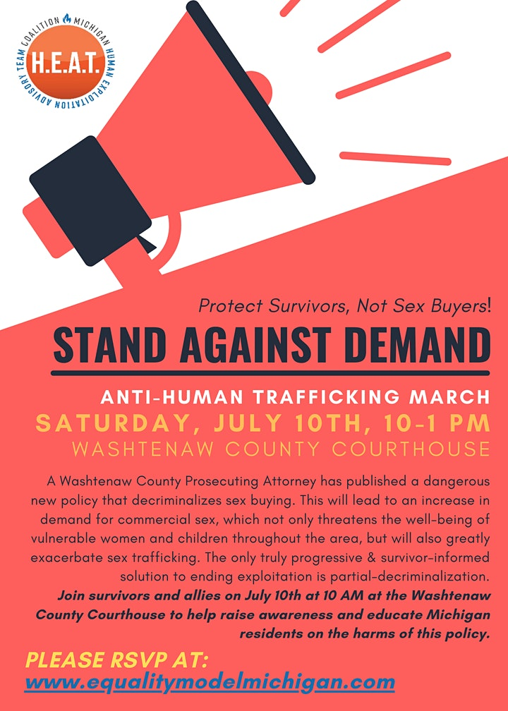Stand Against Demand: Anti-Human Trafficking March image