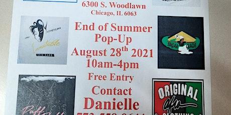 End of Summer Pop-up tickets