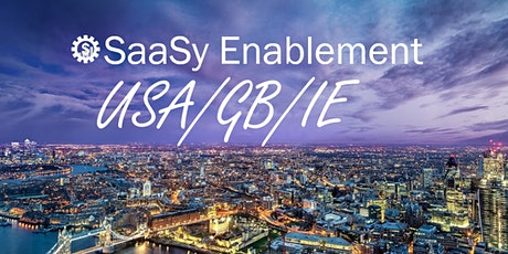 SaaSy  Sales Enablement Live Virtual  August 2021 tickets