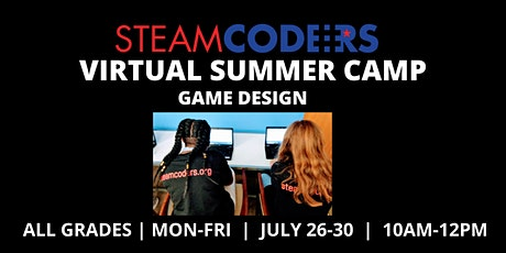 Game Design (Virtual Summer Camp) tickets