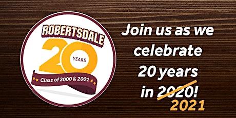 Robertsdale High School 20-Year Reunion (2000-2001) tickets
