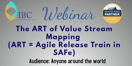 Free Webinar -The ART of Value Stream Mapping tickets