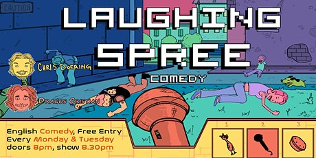 Laughing Spree: English Comedy on a BOAT (FREE SHOTS) .03.08. Tickets