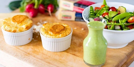 FREE Cooking Class: Cheese Soufflé and Summer Salad tickets