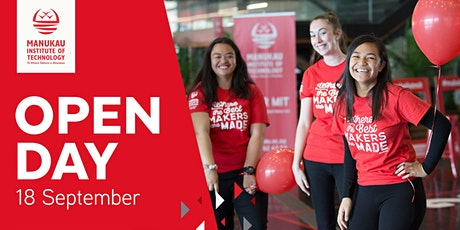 Manukau Institute of Technology Open Day - 18 Sep 2021 tickets