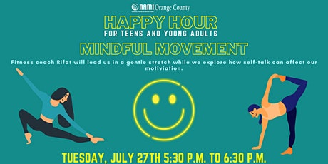 NAMI-OC's Happy Hour: Mindful Movement tickets