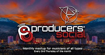The Reno/Tahoe Producers Social @The Bluebird tickets