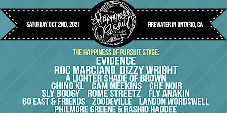 The Happiness of Pursuit Festival 2021 tickets