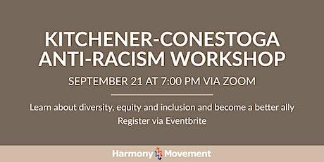 Kitchener-Conestoga Anti-Racism Workshop tickets