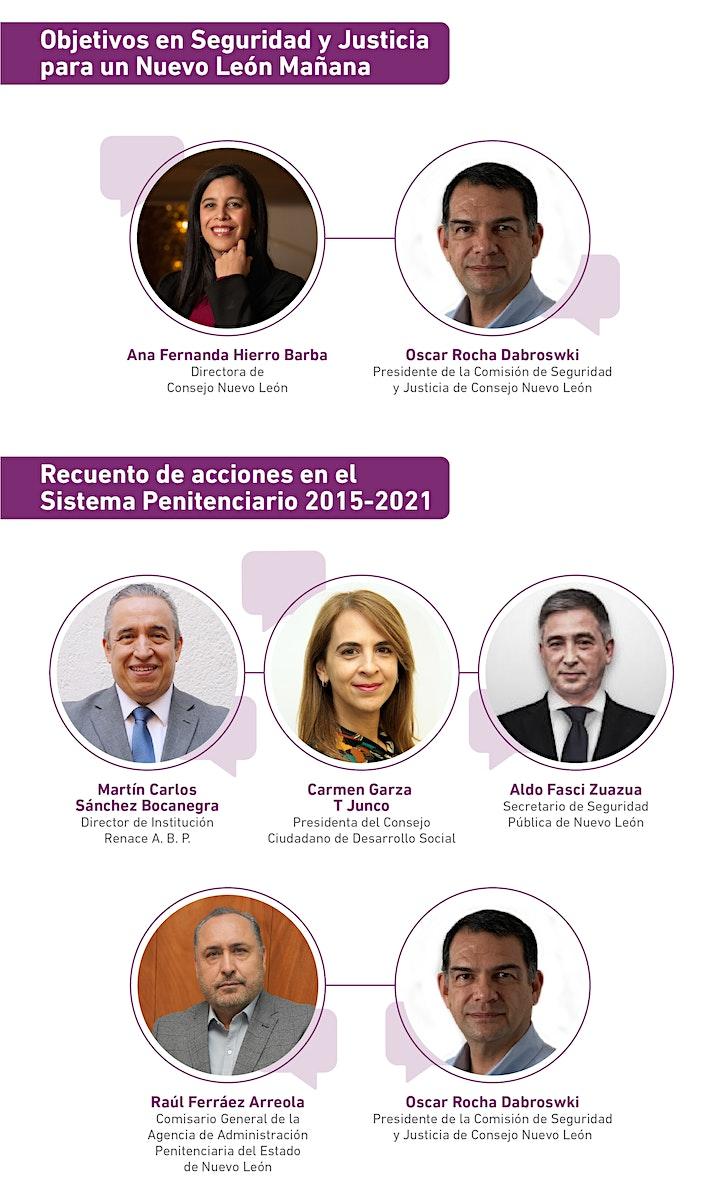 Imagen de Foros Nuevo León Mañana: Seguridad y Justicia -Reinserción social