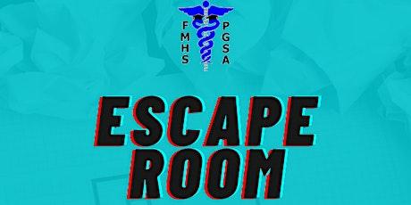 FMHS-PGSA event: Escape Room tickets