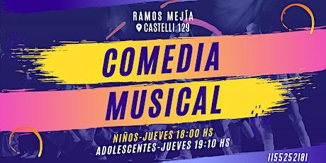Clases de Comedia Musical para niños/as y adolescentes entradas