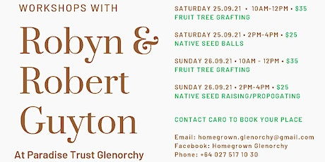 Fruit Tree Grafting, Native Seed raising and more tickets