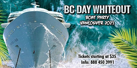 BC Day Whiteout Boat Party Vancouver 2021 tickets
