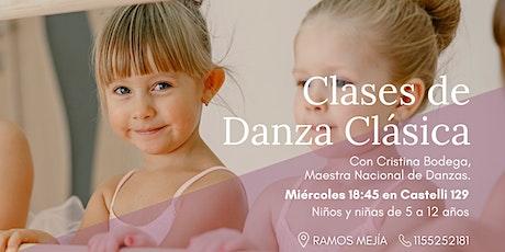 Clases de Danza Clásica para Niños/as entradas