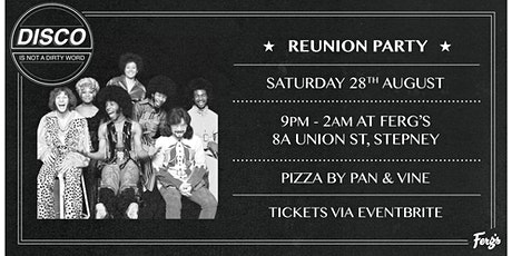 DISCO Is Not A Dirty Word | The Reunion tickets