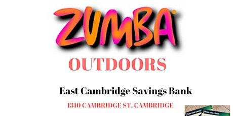 ZUMBA OUTDOORS in CAMBRIDGE tickets