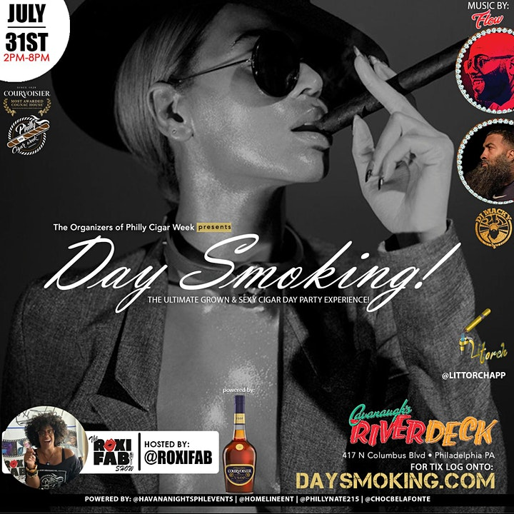 DAY SMOKING THE ULTIMATE GROWN & SEXY CIGAR DAY PARTY... SAT. JUL.  31ST!!! image