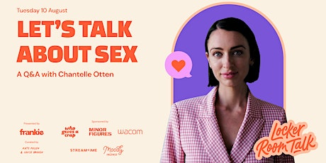 (IN PERSON) Let's Talk About Sex: Q&A w/ psycho-sexologist Chantelle Otten tickets