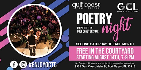 Poetry Night with Gulf Coast Leisure tickets