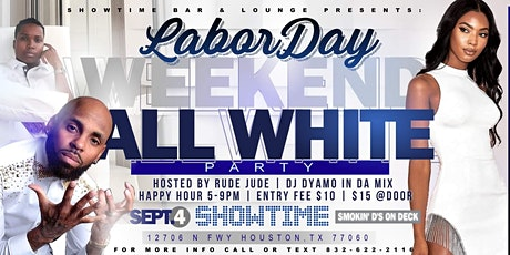 Labor Day Weekend All White Party Hosted by Rude Jude tickets