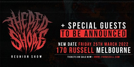 The Red Shore Melbourne Reunion Show tickets