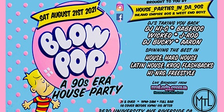 90's Deep House Party tickets