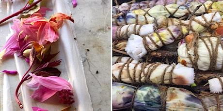 Botanically Dye a Beautiful Silk Scarf tickets