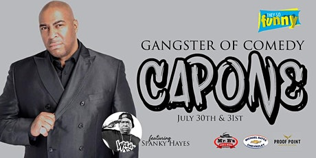 Capone | Saturday, July 31st @ 9:30p tickets