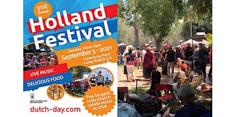 31st Holland Festival Long Beach 2021 tickets