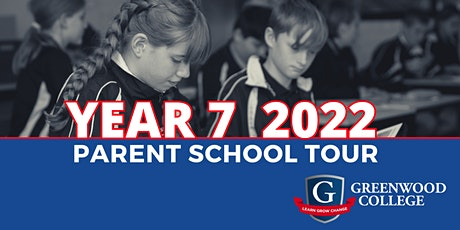 Prospective Parent Tour for Year7 2022 tickets