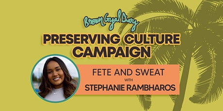 Sweat and Fete with BGD tickets