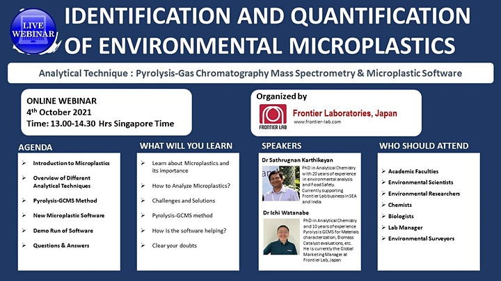 Microplastics Analysis Workshop image