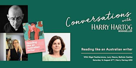In Conversation : how do we read like an Australian writer? tickets