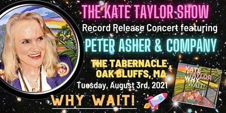Kate Taylor Album Release Concert with Peter Asher and Other Special Guests tickets