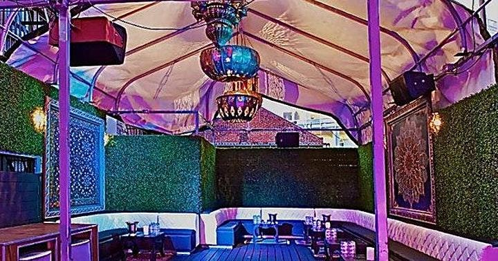 Rosebar Saturday Day Party DC Rooftop Energy image
