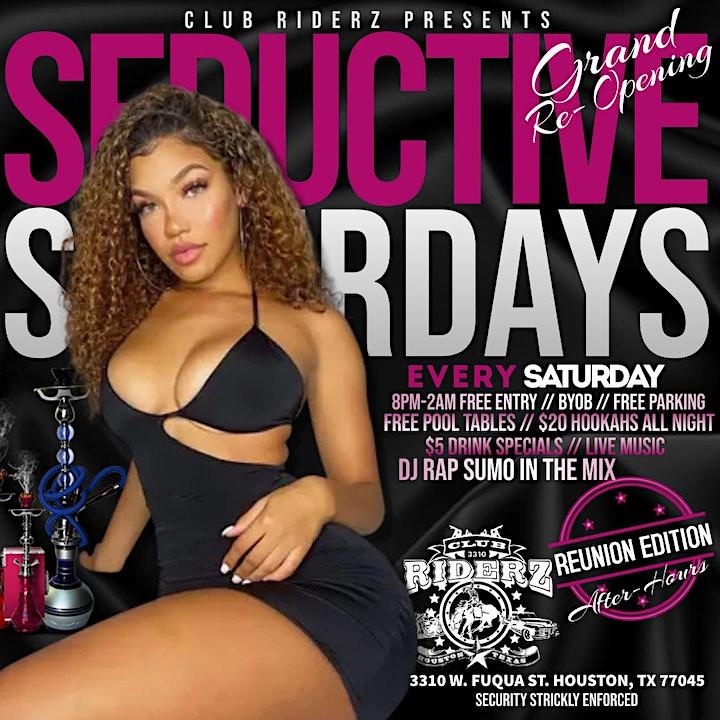 Seductive Saturdays @ Club Riderz image
